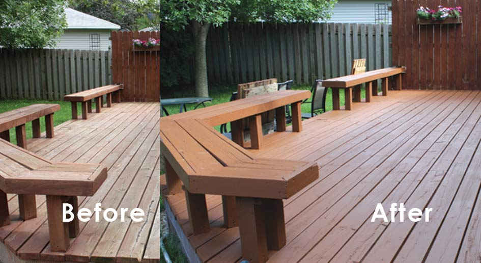 Exterior Deck Stain Different Strokes Painting